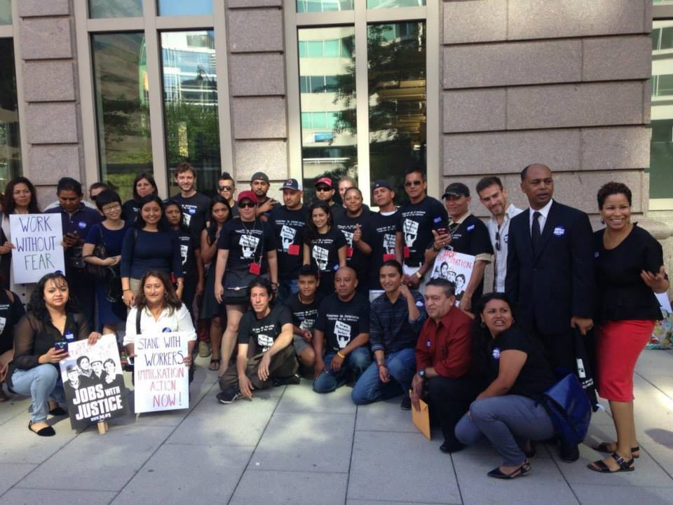Tito's Workers Rally Against Exploitation in Front of NLRB