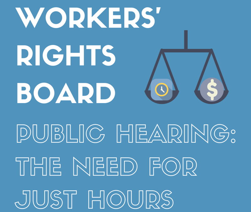 Introducing our 2015 Workers' Rights Board