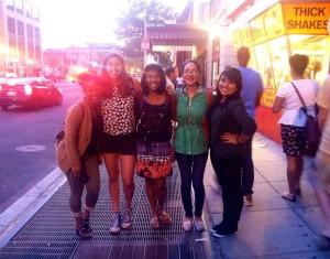 Yanely, far right, with her fellow 2014 Summer KI interns.