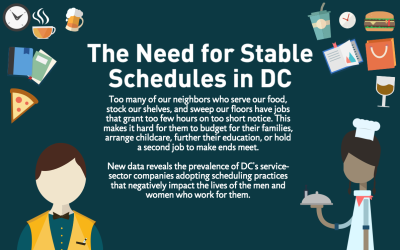 New DC JWJ Report Reveals Unfair Scheduling Practices in DC