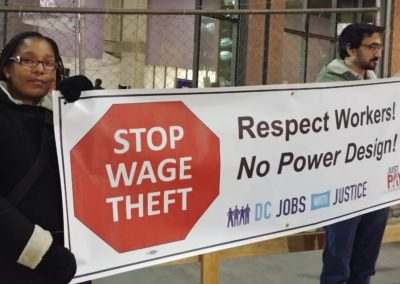 Wage Theft Campaign