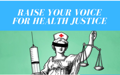 Raise your voice for health justice
