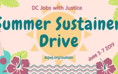 Summer Sustainer Drive 2019