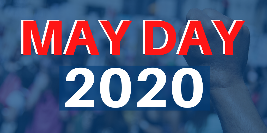MAY DAY GRAPHIC